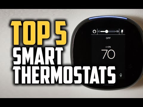 Best Smart Thermostats in 2018 - Which Is The Best Smart Thermostat?