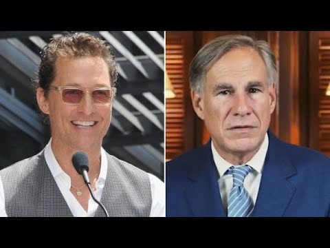 Matthew McConaughey CRUSHING Texas Governor In New Poll