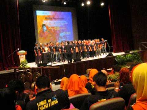 Koir ank felda-Majlis penyampaian sijil pisdec-usm 1st batch