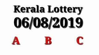 08-06-2019 KARUNYA KR-399 LOTTERY RESULT TODAY | Kerala
