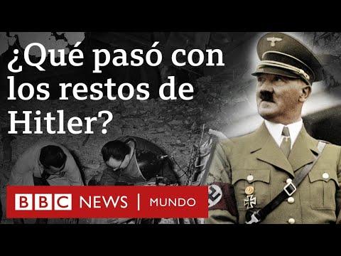 ¿Qué Ocurrió En Realidad Con Los Resto De Adolf Hitler?