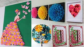 Home Decorating Ideas Handmade With Paper |Easy & Beautiful Wall Decor