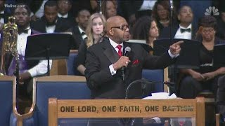 Rev. Jasper Williams under fire for remarks during Aretha Franklin's funeral
