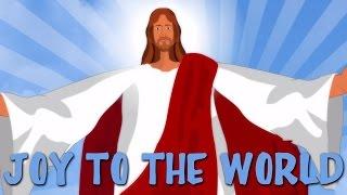Joy To The World With Lyrics | Popular Christmas Carols For Kids