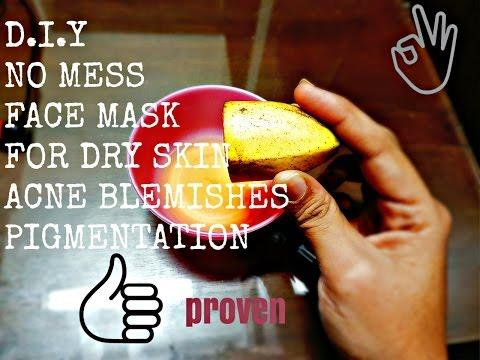 Mask para sa pangmukha balat tulad ng isang bata