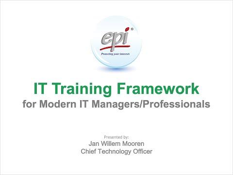 IT Training Framework - Certification Courses for Modern IT ...