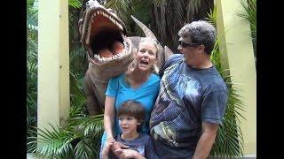 Scary Raptor Encounter at Islands of Adventure Universal Studios Jurassic Park fun