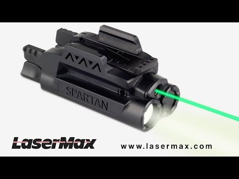 Better Shooting Begins With The LaserMax Spartan Series