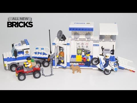 Vidéo LEGO City 60139 : Le poste de commandement mobile