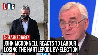 John McDonnell reacts to Labour losing the Hartlepool by-election | LBC