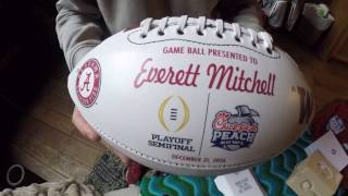 Alabama Football player gifts for bowl games