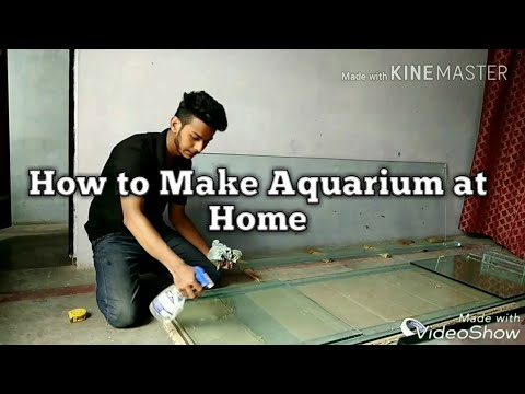 How to make big aquarium