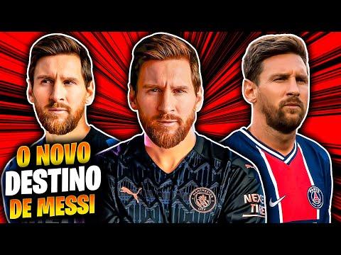 MESSI é do MANCHESTER CITY 😱 PSG 😱😱 ou INTER 😱😱😱 O ADEUS de Messi ao BARCELONA 😳