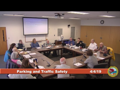 Parking and Traffic Safety Committee 4.4.2019