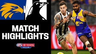 2018 Grand Finalists Go Down To The Wire... AGAIN! | West Coast V Collingwood | Round 17, 2019 | AFL