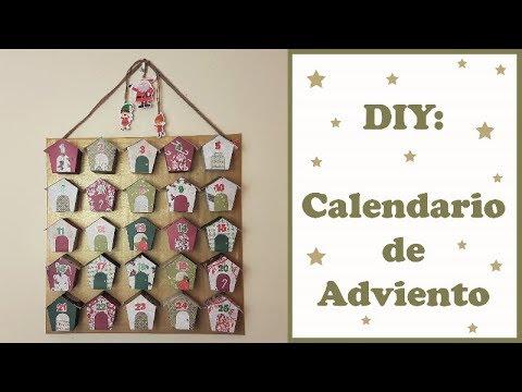 DIY: Cómo hacer un Calendario de Adviento, colaboración con Creavea