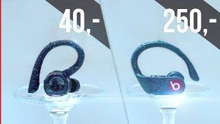Lohnen sich teure Kopfhörer? | Powerbeats Pro vs 40€ Kopfhörer