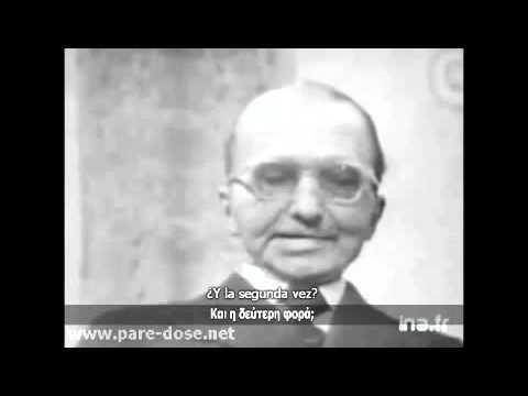 Vidéo de Nikos Kazantzakis