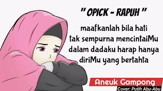 Opick - Rapuh (cover)