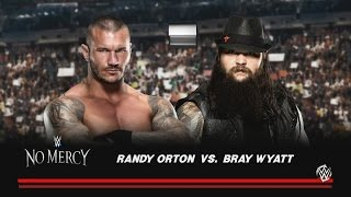 WWE No Mercy 2016 Predictions Randy Orton vs Bray Wyatt(WWE 2K)