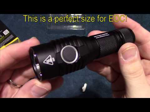 Nitecore MH23 Flashlight Review! 1800 lumens!