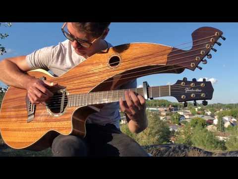 , title : 'Fix You (Coldplay)- Harp Guitar Cover - OnionCuttingVersion - Jamie Dupuis'