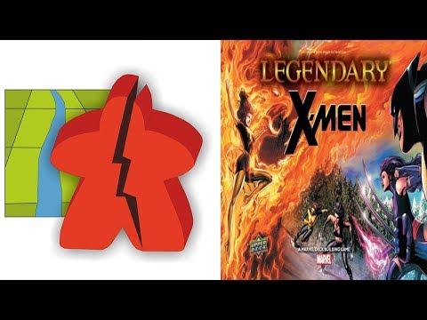 The Broken Meeple - Marvel Legendary: X-Men Review