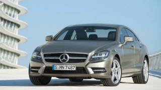 All-New 2012 Mercedes CLS 350 - In/Out/Driving [HD]