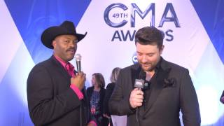 Chris Young Talks About His New Album // CMA Red Carpet // Country Outfitter