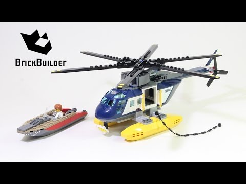 Vidéo LEGO City 60067 : La poursuite en hélicoptère