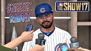 MLB The Show 17 Skeeter Rabbit Road To The Show (CF) EP83 Cubs Are Red Hot MLB 17