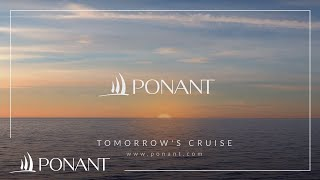 Ponant: Tomorrow's cruise