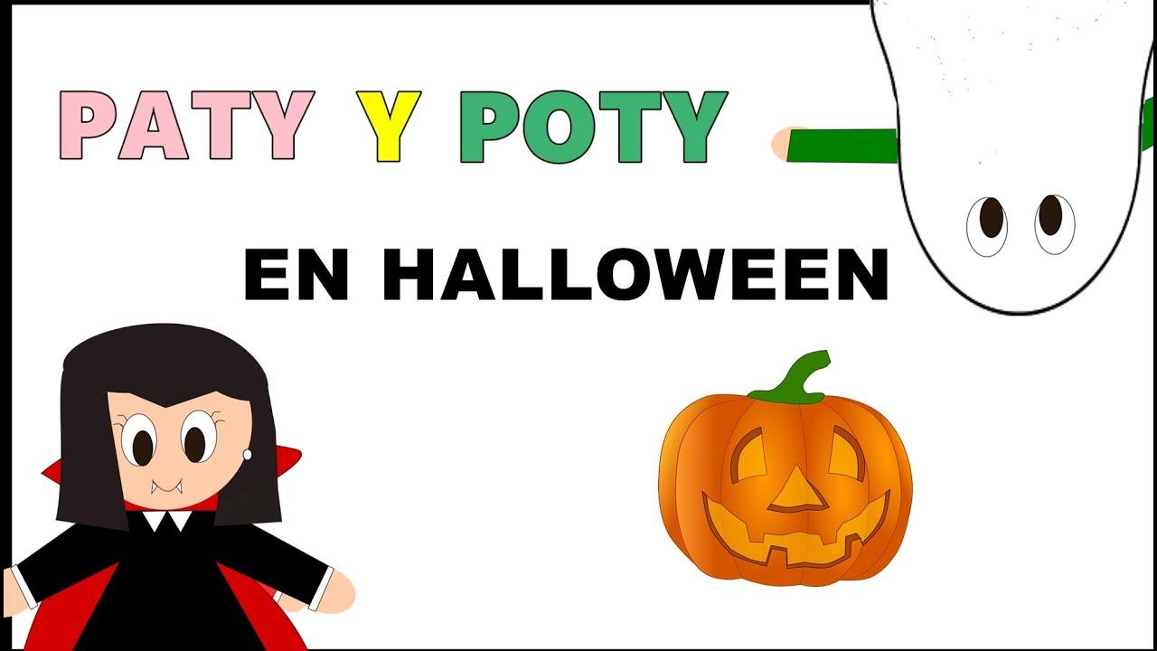 Cuento de Paty y Poty en Halloween - Vídeos educativos para Niños y Bebés - Paty y Poty
