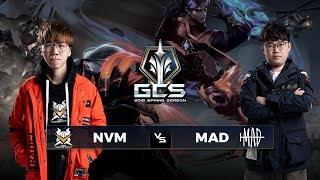 NVM vs MAD - Tuần 6 Ngày 2 - GCS Mùa Xuân 2019