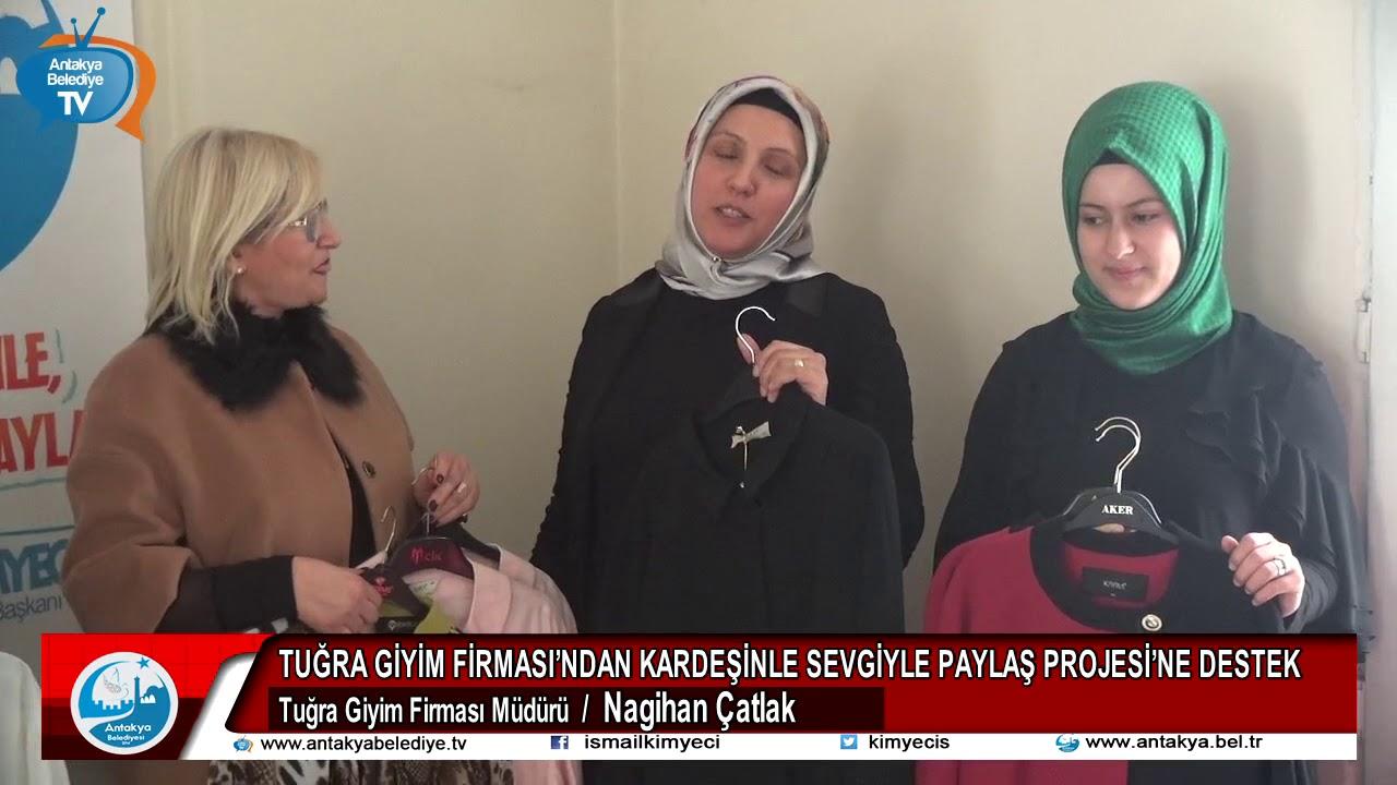 TUĞRA GİYİM FİRMASI'NDAN KARDEŞİNLE SEVGİYLE PAYLA...