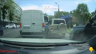 Аварии и ДТП, дебилы за рулём. 2018 год *3