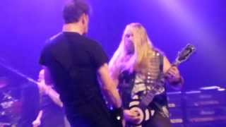 Bass Player Live! Zakk Wylde,Corey Taylor,Jason Newsted 'War Pigs' @The Fonda Theatre 11-9-2013