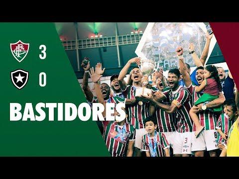 96a340cc2e CONQUISTAS FluTV - Bastidores - Fluminense 3 x 0 Botafogo - Final da Taça  Rio Data  27 03 2018. Por  FluTV