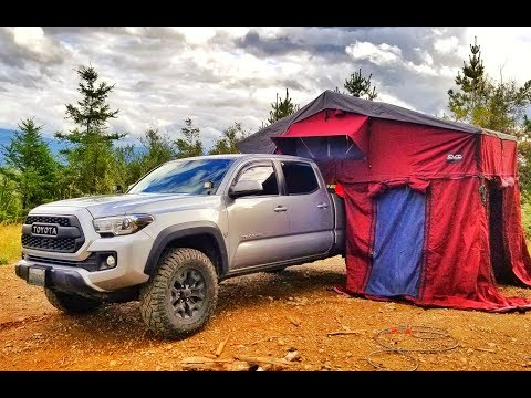 Rooftop Tent Initial Review – CVT (Cascadia Vehicle Tents) Mt. Rainier – on a Toyota Tacoma