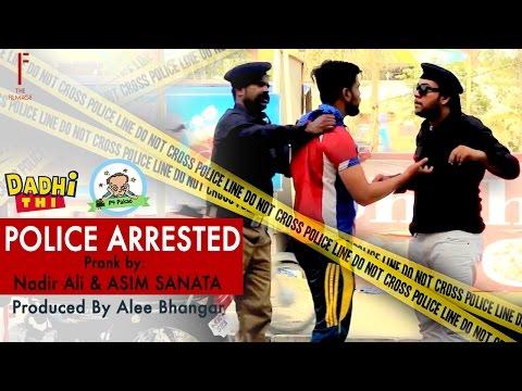 Police Arrested prank