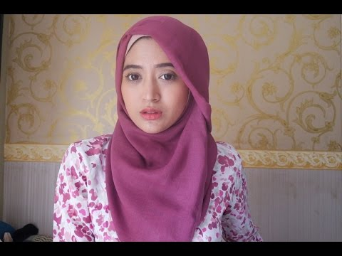Video #60 Hijab Tutorial - Natasha Farani - Paris (Segi Empat)