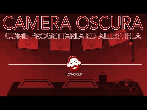 CAMERA OSCURA - COME PROGETTARLA ED ALLESTIRLA