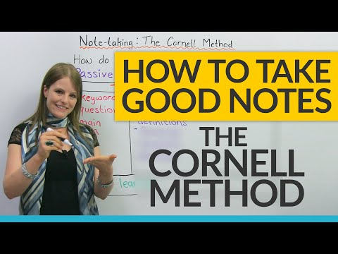 , title : 'How to study efficiently: The Cornell Notes Method
