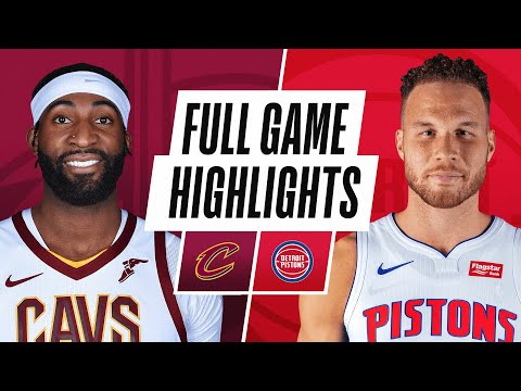 CAVALIERS at PISTONS | FULL GAME HIGHLIGHTS | December 26, 2020