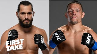 Jorge Masvidal vs. Nate Diaz comes down to who is tougher – Chael Sonnen | First Take