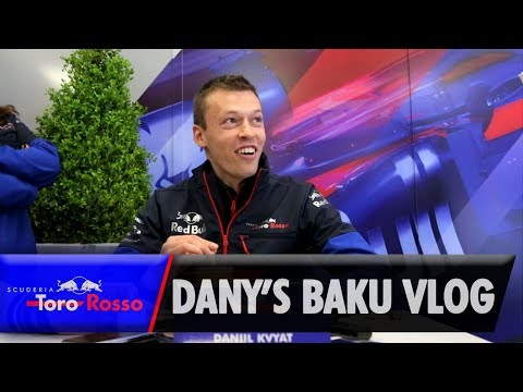 F1 2019: Daniil Kvyat's Azerbaijan GP Vlog
