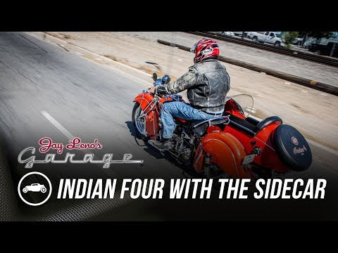 1940 Indian Four with the Sidecar – Jay Leno's Garage
