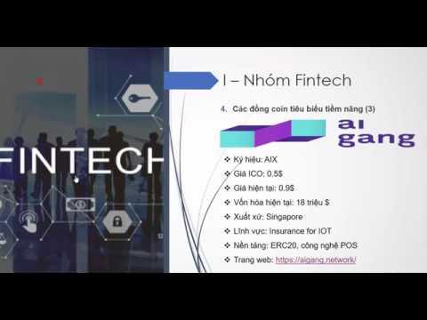Hệ sinh thái blockchain (P1) - Nhóm Fintech - Đồng coin tiềm năng AI GANG