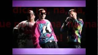 Na de na remix con letra - Ángel & Khris Ft. Jhon Erick