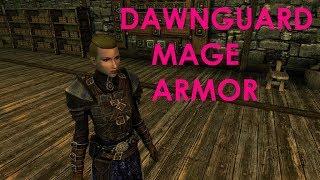 Skyrim Special Edition Mod Review Dawnguard Mage Armor (CBBE)